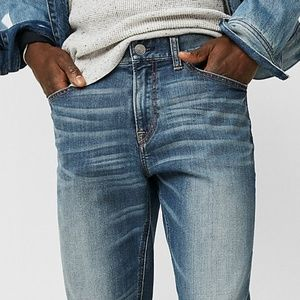 Express Classic Straight Stretchy Jeans